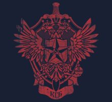 KGB - Committee for State Security RED Kids Tee