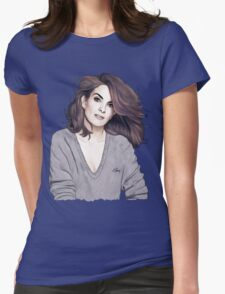 Tina Fey Womens Fitted T-Shirt
