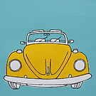 Yellow Beetle by Adam Regester
