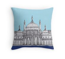 Pavilion Blues Throw Pillow