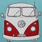 VW Camper Van  by Adam Regester