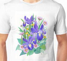 Iris Ikebana Unisex T-Shirt