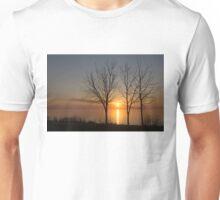 Three Trees and the Sun Unisex T-Shirt