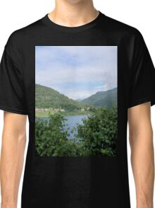 View Across the Fjord Classic T-Shirt