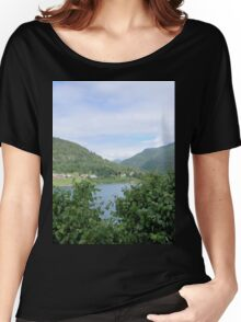 View Across the Fjord Women's Relaxed Fit T-Shirt