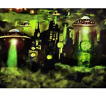 ufo invasion Photographic Print