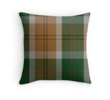 00754 Bannock Bane M.406 Tartan  Throw Pillow