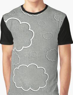 Cartoon Sky Graphic T-Shirt