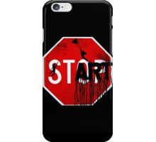 Stop - Start iPhone Case/Skin