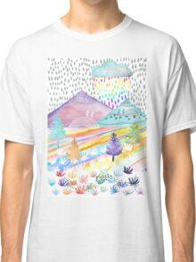 Watercolour Landscape Classic T-Shirt