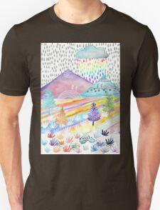 Watercolour Landscape Unisex T-Shirt