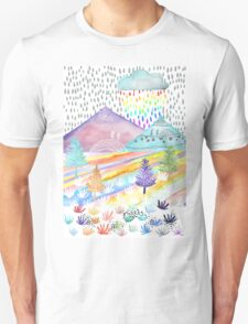 Watercolour Landscape Unisex T-Shirt