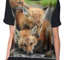 RED FOX DREAMING Chiffon Top