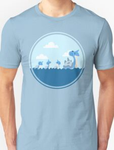 Lapras and kids Unisex T-Shirt