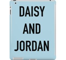 Daisy and Jordan iPad Case/Skin