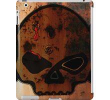Rusty Harley Davidson iPad Case/Skin