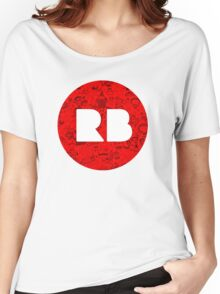 RedBubble, RB, Doodle, logo Women's Relaxed Fit T-Shirt