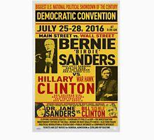 Bernie vs. Hillary poster Unisex T-Shirt