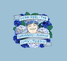 "Team³ - Mertsy ""I Can Feel the Shrubbery Against My Toes"" Merchandise Unisex T-Shirt"