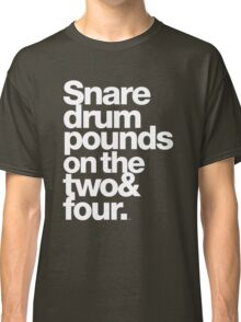 Prince - Snare Drums Pound on the Two & Four Classic T-Shirt