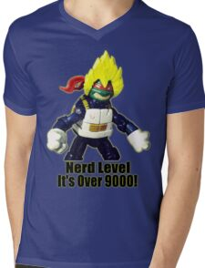Nerd Level: its over 9000 Mens V-Neck T-Shirt