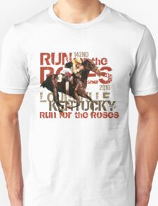 142nd Run for the Roses 2016 Triple Crown Horse Racing T-Shirt