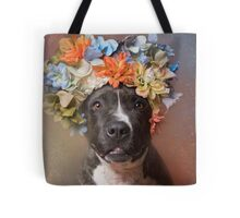 Flower Power, Angel Tote Bag