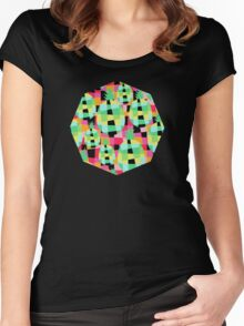 Pop-Pineapple Women's Fitted Scoop T-Shirt