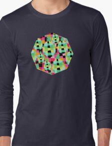 Pop-Pineapple Long Sleeve T-Shirt