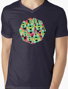 Pop-Pineapple Mens V-Neck T-Shirt