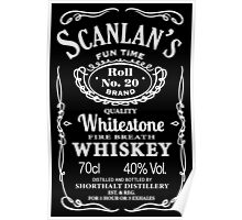 Scanlan's Fire Breath Whiskey Poster