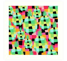 Pop-Pineapple Art Print