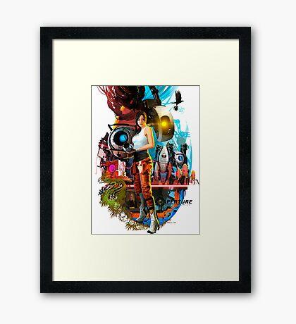Portal 2 Framed Print