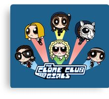 The Clone Club Girls Canvas Print