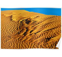 Windblown Dune - Perry sand dunes Poster