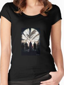 Benedict Cumberbatch 6 iconic characters Women's Fitted Scoop T-Shirt