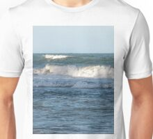 Splashing ocean waves in Queensland Unisex T-Shirt