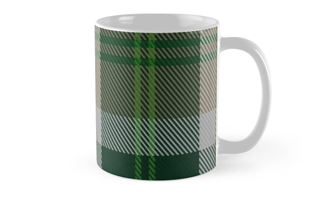 00758 Bannockbane Dark Green Tartan  by Detnecs2013