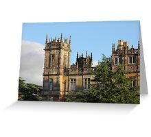 Highclere Castle (Downton Abbey) Greeting Card