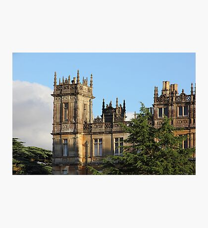 Highclere Castle (Downton Abbey) Photographic Print