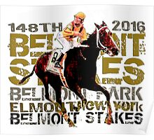 148th Belmont Stakes Triple Crown Horse Racing 2016 Poster