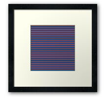 VERTICAL LAYER Framed Print