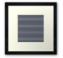 NAVY BLUE Framed Print