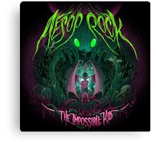 Aesop Rock - The Impossible Kid Canvas Print