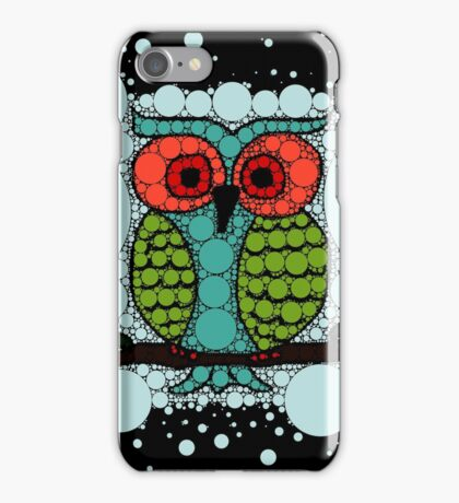 Curiosity Never Killed an Owl iPhone Case/Skin