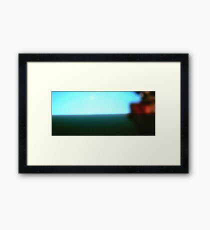 Partsalev on my mind Framed Print