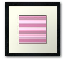 PINK AND SWEET Framed Print