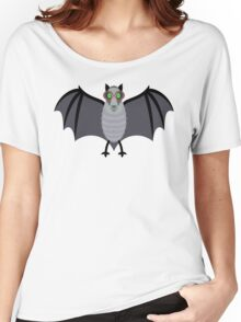 BAT WITH IMPROVED VISION Women's Relaxed Fit T-Shirt