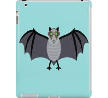 BAT WITH IMPROVED VISION iPad Case/Skin