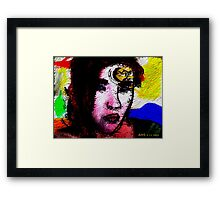 Thoughts of you 4/23/2016 Framed Print